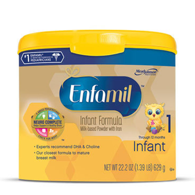 Enfamil Premium Milk Based Infant Formula Powder 22.2oz 4-Pack