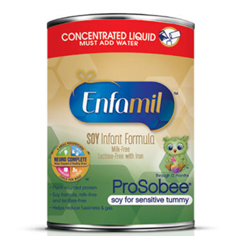 Enfamil ProSobee Infant Soy Formula Concentrate 13oz Each
