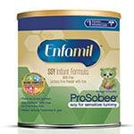 Enfamil ProSobee Infant Soy Formula Powder 22oz thumbnail