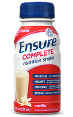 Abbott Ensure Nutrition Clinical Strength Vanilla 8oz Each