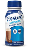 Abbott Ensure Milk Chocolate Nutrition Shake 8oz Each thumbnail