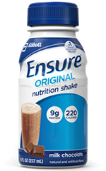 Abbott Ensure Milk Chocolate Nutrition Shake 8oz Case of 24