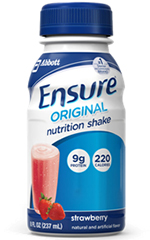 Abbott Ensure Nutrition Strawberries & Cream Shake 8oz Each