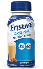 Abbott Ensure Nutrition Ready To Drink Butter Pecan 8oz Case of 24
