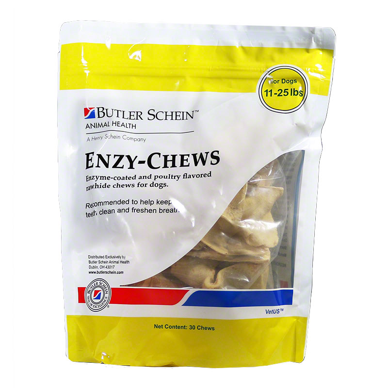 Butler Schein Enzy-Chews For Medium Dogs Poultry Flavor