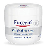 Eucerin Original Healing Repair Creme 4oz - Pack of 6