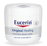 Eucerin Original Healing Repair Creme 4oz - Pack of 3