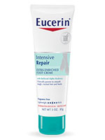 Eucerin Plus Intensive Repair Foot Creme 3oz - Pack of 12