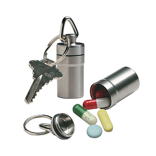 Ezy-Dose Deluxe Pill Fob Keychain