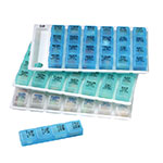 Ezy-Dose Weekly 4-Times-A-Day Pill Organizer - Large