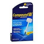 Compound W Fast Acting Liquid Wart Remover .31oz