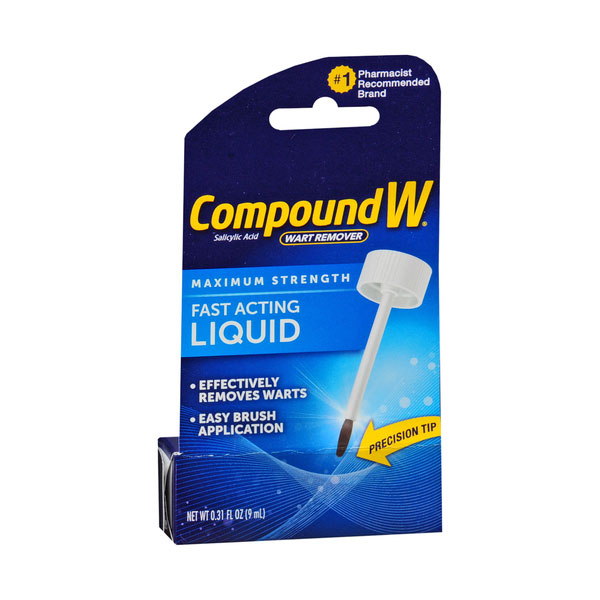 Compound W Liquid Wart Remover .31oz - Pack of 6
