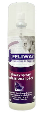 Feliway Pro Size Behavior Treatment Spray For Cats 219ml