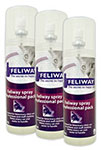 Feliway Pro Size Behavior Treatment Spray For Cats 219ml Pack of 3