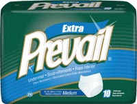 First Quality Prevail Protective Underwear SM/MD 34 inch -44 inch 10/bag