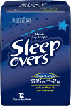 First Quality Sleepovers Youth Pants LG/XL 12/bag