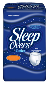 First Quality Sleep Overs Youth Pants XL 85-140lbs SLP05303 88/cs