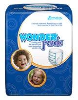 First Quality WonderPants Trainers 2T-3T Up to 34lbs WP-7001/1 26/bag
