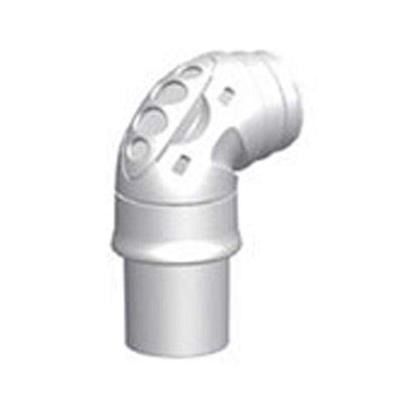 FlexiFit 405 Elbow Kit w/Elbow, Swivel, Cap, Material 900HC441 CPAP