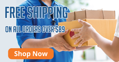 Free Shipping over $89
