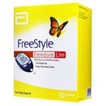 FreeStyle Freedom Lite Blood Glucose Monitoring System thumbnail