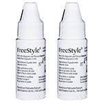FreeStyle Glucose Control Solution Normal Box of 2 vials thumbnail