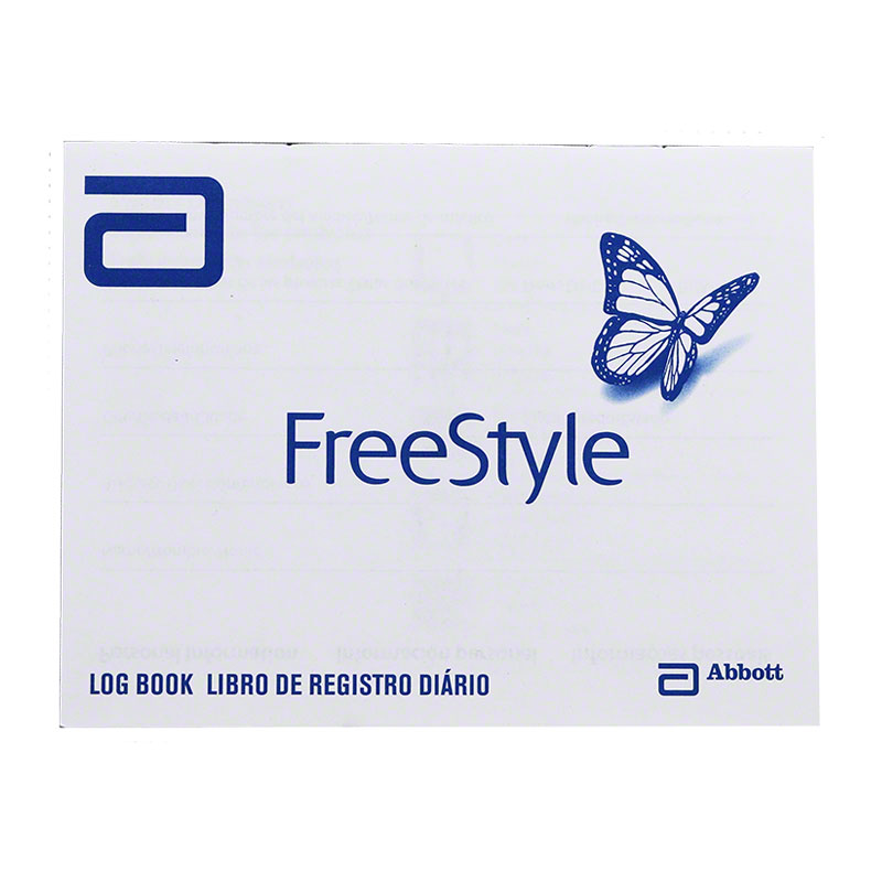 FreeStyle Glucose Log Book