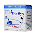 FreeStyle Diabetic Test Strips Box of 50