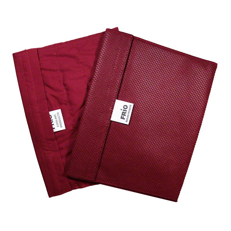 FRIO Extra-Large Insulin Cooler Wallet - Burgundy