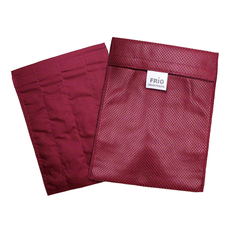 FRIO Large Insulin Cooler Wallet - Burgundy