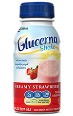 Abbott Glucerna Nutrition Strawberry Shake 8oz Each
