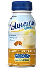 Abbott Glucerna Nutrition Butter Pecan Shake 8oz Each