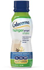 Abbott Glucerna Hunger Smart Vanilla Shake 11.5oz Pack of 12