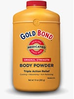 Gold Bond Original Strength Medicated Body Powder 4oz - Pack of 6