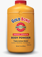 Gold Bond Original Strength Medicated Body Powder 4oz - Pack of 12