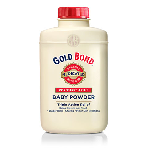 Gold Bond Cornstarch Plus Baby Powder 4oz - Pack of 6