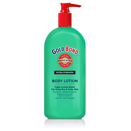 Gold Bond Medicated Body Lotion - Extra Strength 14oz - Pack of 12