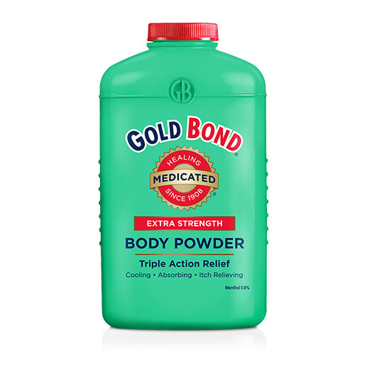 Gold Bond Medicated Body Powder - Extra Strength 4oz - Pack of 12
