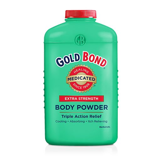 Gold Bond Medicated Body Powder - Extra Strength 4oz - Pack of 3