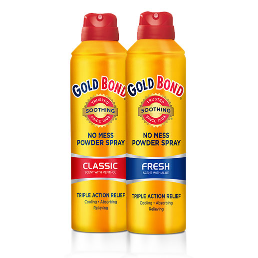 Gold Bond Soothing Foot Powder Spray Fresh Scent 7oz