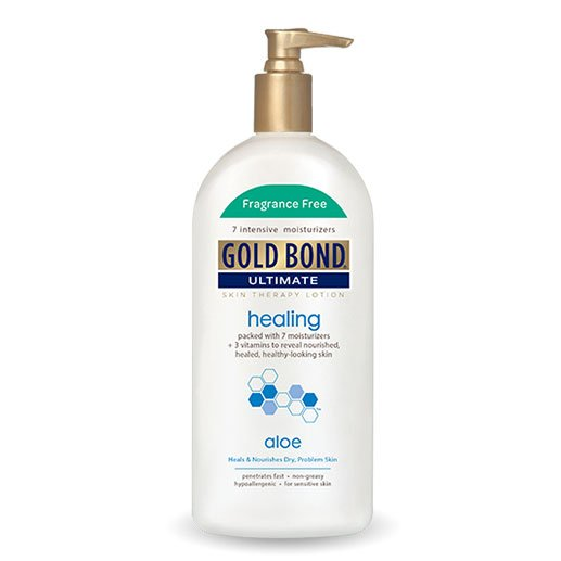 Gold Bond Ultimate Healing Lotion Fragrance Free 14oz - Pack of 6