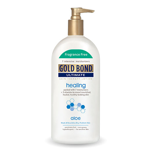 Gold Bond Ultimate Healing Lotion Fragrance Free 14oz - Pack of 12