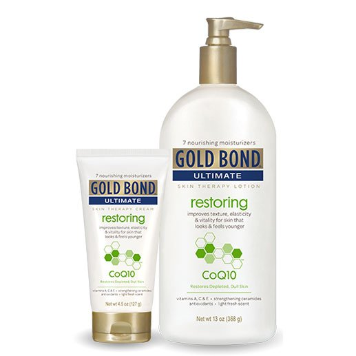 Gold Bond Ultimate Restoring Lotion with CoQ10 4.5oz - Pack of 6