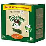 GREENIES Dental Chews Value Size Tub 36oz Petite - Case of 5