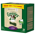 GREENIES Dental Chews Value Size Tub 36oz Large - Case of 5