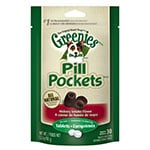Greenies Canine Pill Pockets Hickory Smoke Capsule 30/pk