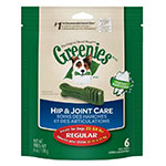 Greenies Hip & Joint Care Dental Chews For Dogs 6oz Regular 6 ct