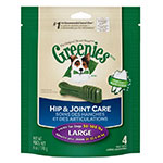 Greenies Hip & Joint Care Dental Chews For Dogs 6oz Large 4 ct