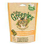 Greenies Cat Dental Treats Oven Roasted Chicken 2.5oz Case of 10