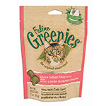 Greenies Cat Dental Treats Salmon 2.5oz Case of 10